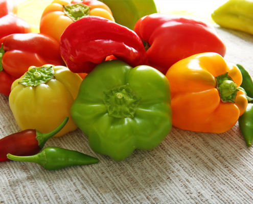 Barevné papriky a jejich zdravotní výhody - foto barevné papriky
