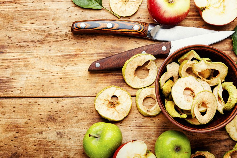 Jak Sušit A Skladovat Potraviny