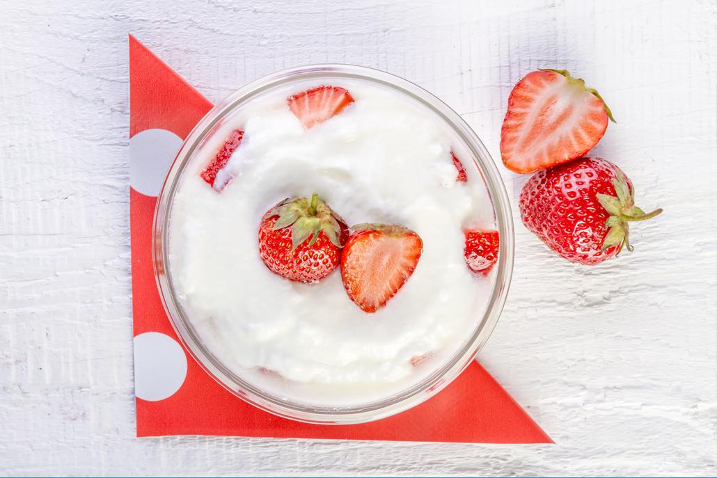 Jak Udělat Doma Domácí Jogurt - Ilustrační Foto