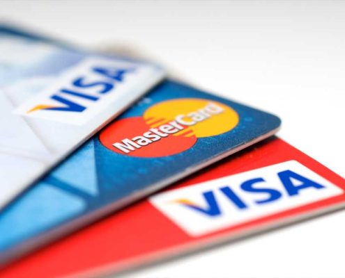 Tři kreditní karty