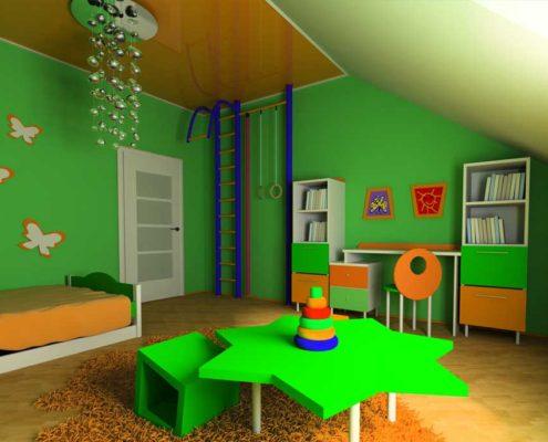 Dětský pokojík-foto