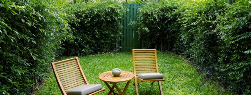 Soukromí na zahradě - ilustrační foto