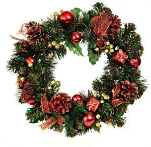 Jak udělat vánoční věnec